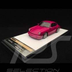 Porsche 911 typ 964 Carrera RS 1992 Club Sport ruby stone red 1/43 Make Up Vision VM139A
