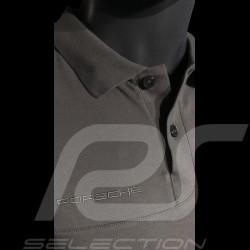 Polo Porsche Classic gris grey grau Porsche Design WAP935K shirt homme men herren