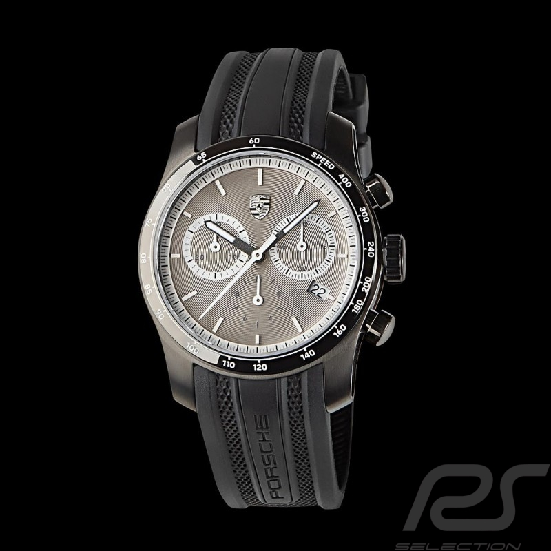 Montre Watch Uhr Chronographe Porsche 911 Collection argent Porsche Design WAP0709000K