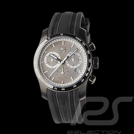 Montre Watch Uhr Chronographe Porsche 911 Collection argent WAP0709000K