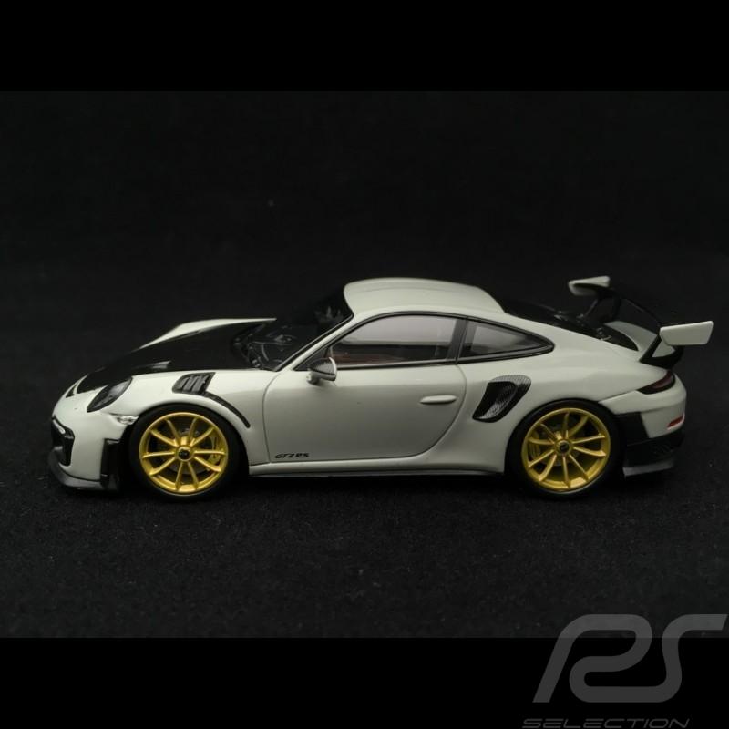 Porsche 911 type 991 GT2 RS 2018 gris Craie / Carbone Chalk grey / Carbon Kreidegrau / Kohlenstoff 1/43 Minichamps 410067226