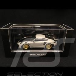 Porsche 911 type 991 GT2 RS 2018 Chalk grey / Carbon 1/43 Minichamps 410067226