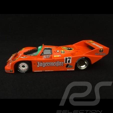 Porsche 962 n° 17 Jägermeister Sieger 24h Spa 1986 1/43 Spark SB007