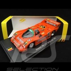 Porsche 962 n° 17 Jägermeister Winner 24h Spa 1986 1/43 Spark SB007