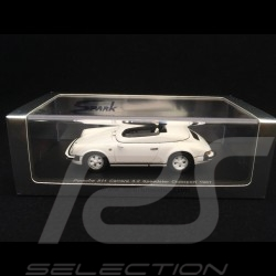 Porsche 911 Carrera 3.2 Speedster Clubsport 1987 blanc white weiss Grand prix 1/43 Spark S2041