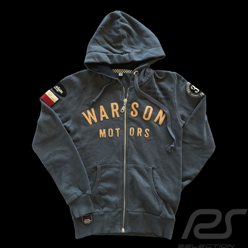 Hoodie jacket Bonneville carbon grey - women