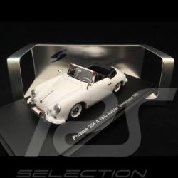 Porsche 356 A 1600 Cabriolet 1958 Austrian Gendarmerie 1/43 Spark S1353