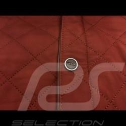 Gentleman driver quilted Leather jacket cognac - men