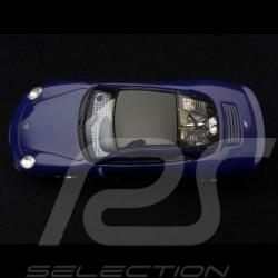 9ff GT9 Porsche base 997 GT3 R 2007 Night blue 1/43 Spark S0737