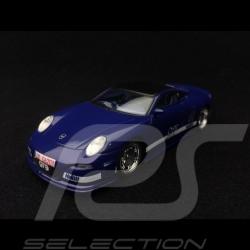 9ff GT9 base Porsche 997 GT3 R 2007 bleu Nuit Night blue Nachtblau 1/43 Spark S0737