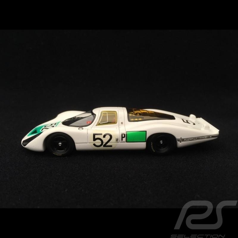 Porsche 907 n° 52 Siffert Herrmann 24h Daytona 1968 1/43 Spark S2985