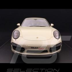Porsche 911 type 991 Carrera S 50 ans 1/18 Spark 18SP065 gris geyser grey grau 50 years 50 Jahre