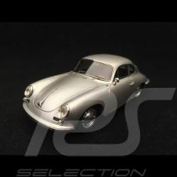 Porsche 356 C Carrera 2 1963 silver grey 1/43 Spark S1370