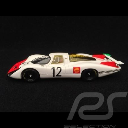 Porsche 908 LH n° 12 Stommelen Herrmann Vainqueur Winner Sieger Paris 1968 1/43 Spark SF050