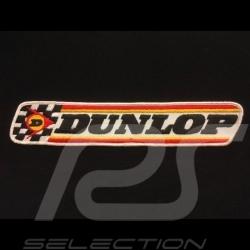Dunlop Badge in stoff zum aufnähen