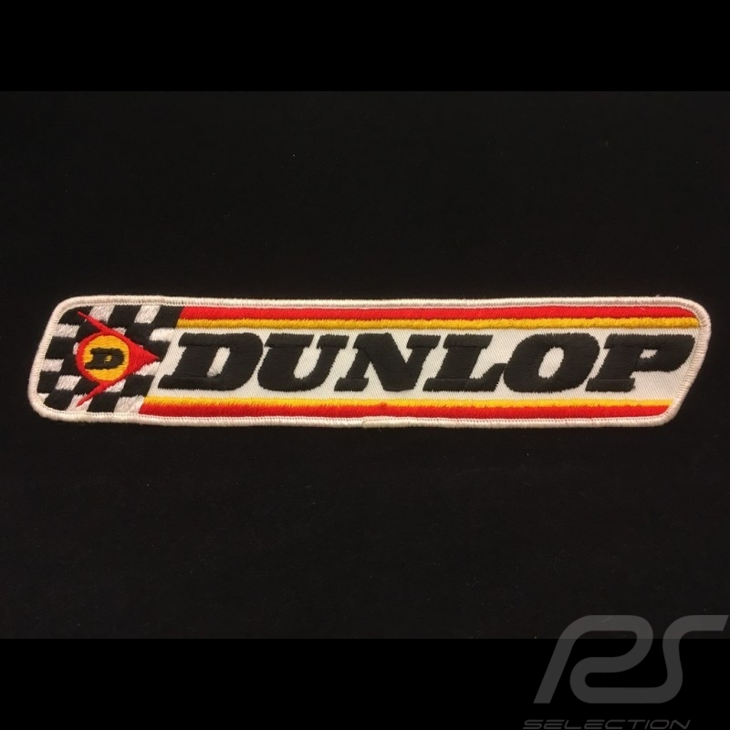 Badge Dunlop en tissu à coudre Dunlop Badge in fabric to sew-on Dunlop Badge in stoff zum aufnähen
