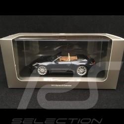 Porsche 911 Carrera S cabriolet type 992 2019 bleu nuit night blue nachtblau 1/43 Minichamps WAP0201710K