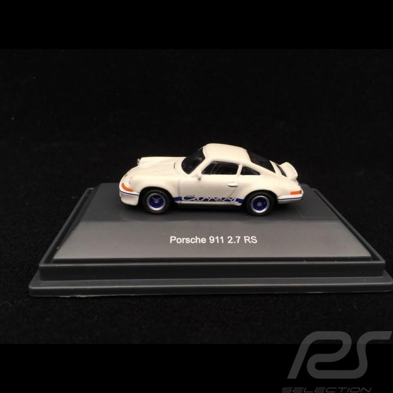 Porsche 911 2.7 Carrera RS 1973 blanc white weiß grand Prix 1/87 Schuco 452639900