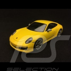 Porsche 911 Carrera T type 991 phase 2 2018 jaune Racing Racing yellow Racinggelb 1/43 Minichamps CA04319001