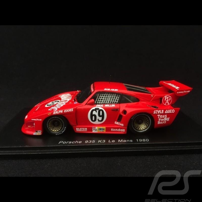 Porsche 935 K3 n° 69 Hawaiian Tropic 24h du Mans 1980 1/43 Spark S5522