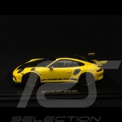 Porsche 911 GT3 RS Pack Weissach 991 phase II Racing yellow 1/43 Spark S7628
