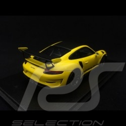 Porsche 911 GT3 RS Pack Weissach 991 phase II jaune Racing Racing yellow Racinggelb 1/43 Spark S7628