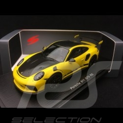 Porsche 911 GT3 RS Pack Weissach 991 phase II Racinggelb 1/43 Spark S7628