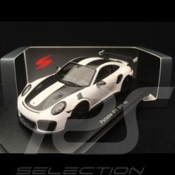 Porsche 911 GT2 RS Pack Weissach 991 white 1/43 Spark S7629
