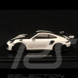Porsche 911 GT2 RS Pack Weissach 991 white 1/43 Spark S7629