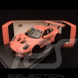 Porsche 911 GT3 R type 991 n° 991 Pink Pig JRM finale China GT championship 2018 1/43 Spark SA176