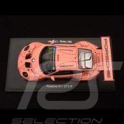 Porsche 911 GT3 R typ 991 n° 991 Pink Pig JRM finale China GT championship 2018 1/43 Spark SA176