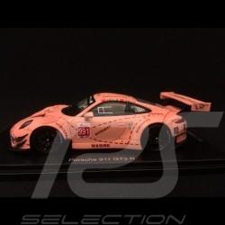 Porsche 911 GT3 R type 991 n° 991 Pink Pig JRM final China GT championship 2018 1/43 Spark SA176