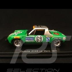 Porsche 914 /6 n° 69 Max Moritz Le Mans 1971 1/43 Spark S7508