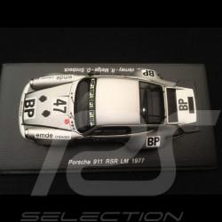 Porsche 911 RSR n° 47 BP Verney Le Mans 1977 1/43 Spark S7500