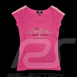 Daytona T-shirt Vintage design Pink - women