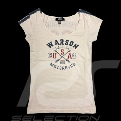 68 Flying Arrow T-shirt Vintage design White - women