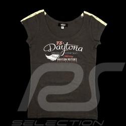 Daytona T-shirt Vintage design Anthrazitgrau - Damen