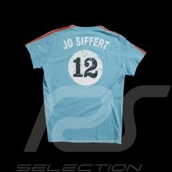 kinder T-shirt Jo Siffert Targa Gulf Blau n° 12