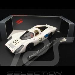 Porsche 907 n° 51 Schlesser Buzzetta 3rd 24h Daytona 1968 1/43 Spark S2986