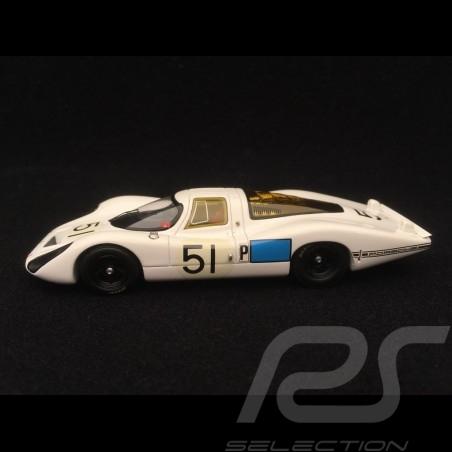 Porsche 907 n° 51 Schlesser Buzzetta 3ème 24h Daytona 1968 1/43 Spark S2986