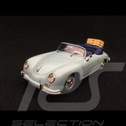 Porsche 356 A Speedster 1955 bleu meissen meissen blue meissen blau 1/43 Schuco 450258400