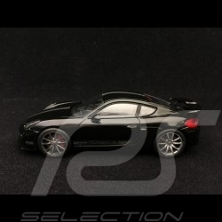 Porsche Cayman GT4 2015 schwarz Porsche silber streife 1/43 Schuco 450758900