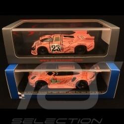 Duo Porsche Cochon Rose pink pig sau 917 /20 Le Mans 1971 & 911 RSR Le Mans 2018 1/43 Spark S1896 S7033