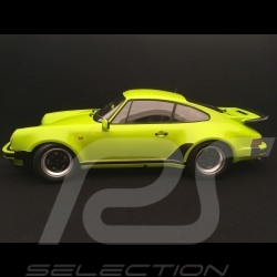 Porsche 911 3.0 turbo 1975 light green 1/12 Minichamps 125066119