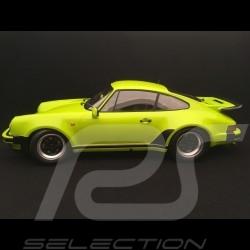 Porsche 911 3.0 turbo 1975 vert lumière light green lindgrün 1/12 Minichamps 125066119