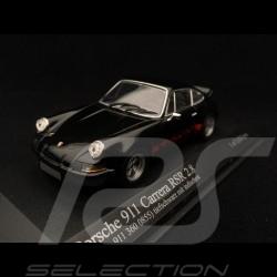 Porsche 911 2.8 Carrera RSR 1973 noir bandes rouges 1/43 Minichamps 430736901