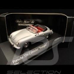 Porsche 356 A Cabriolet Stuttgart 1954 silbergrau 1/43 Minichamps 400065030