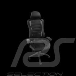 Ergonomic office armchair Head Point RS Sport black leatherette Made in Germany