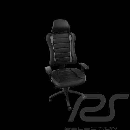 Siège de bureau ergonomique Head Point RS Sport noir simili cuir Made in Germany burostuhl armchair