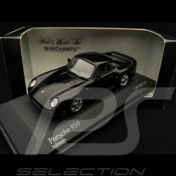 Porsche 959 1987 black 1/43 Minichamps 400062522
